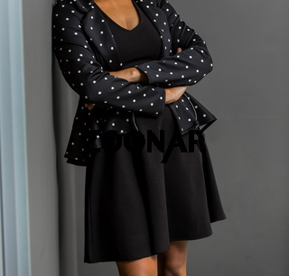 African Business Woman in corporate clothing attire