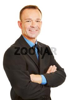 Bewerbungsbild von einem Geschäftsmann