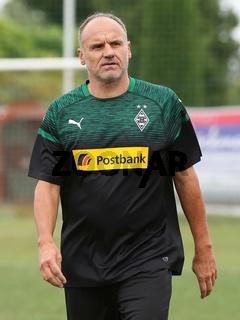 ehemaliger deutscher Fußballer Martin Schneider Borussia Mönchengladbach - Weisweiler Elf 2018