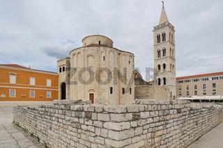 Forum und Kirche Sveti Donat in Zadar