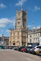Cirencester Church in centre of town