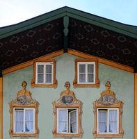 Bad Toelz house facade