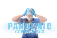 Hospital nurse overwhelmed and stressed during COVID-19 pandemic