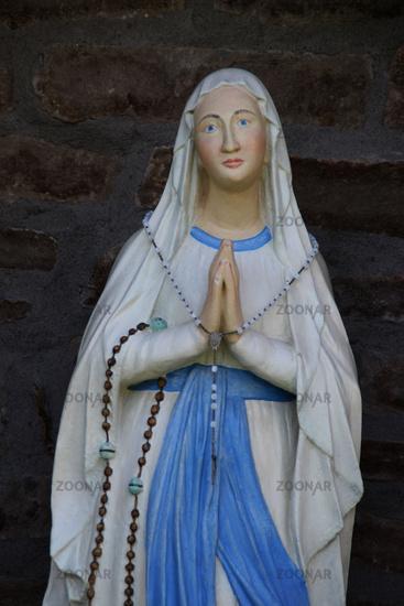 A Mary figure