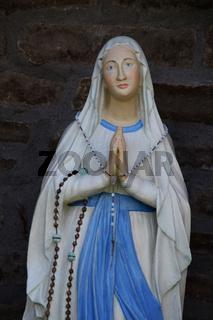 Eine Marien Figur
