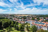 Blick auf die Stadt Kühlungsborn