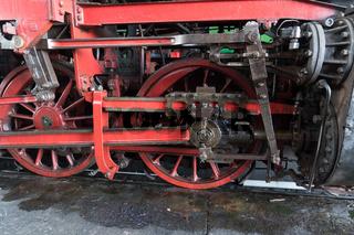 Antreibsgestänge einer Dampflokomotive