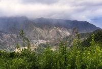 Blick ins Tal von Vallehermoso
