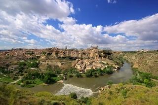 Toledo Stadt Panorama - Toledo town Panorama 02