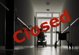 Besuchsverbot in einem Seniorenheim