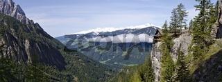 Gipfel der Schobergruppe und Dolomitenhütte