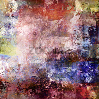 malerei textur herbstfarben