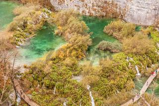 Plitvicer Seen Kaskaden
