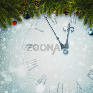 Countdown to New Year, abstract holidays backgrounds for your design