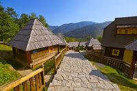 Traditional village Drvengrad Mecavnik - Serbia