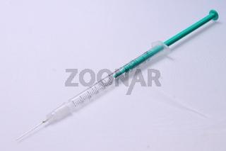 Syringe and needle
