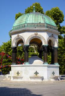 The German Fountain, Istanbul