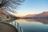 Romantic Iseo lake view