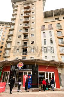 Burger King Restaurant Opening Day