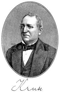 Henry Kruse, 1815 - 1902, a German journalist, poet and writer,