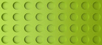 Abstract modern green background with three dimensional dots
