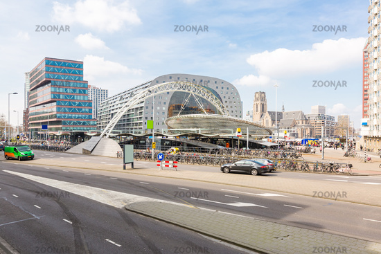Rotterdam downtown Netherlands