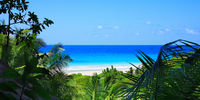 Indian Ocean, Island La Digue, Republic of Seychelles.