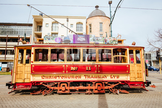 Christchurch Tramway in New Zealand