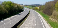 Highway without any cars