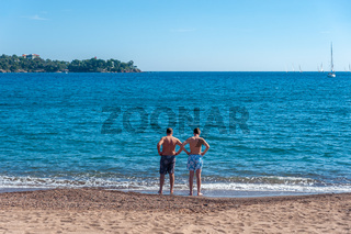 Strand in Agay