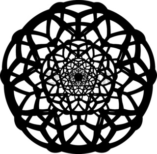 Vector-contour-of-complicated-geometrical-mandala