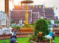 Chiang Mai temple, Thai