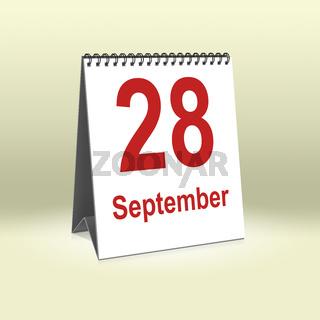 September 28th   28.September