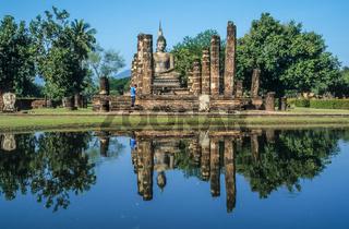Buddhist temple ruin