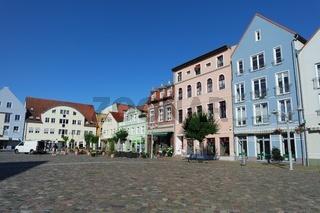 Marktplatz in Ueckermünde