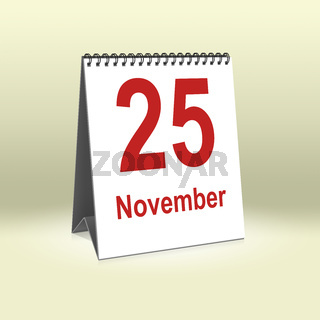 November 25th   25.November