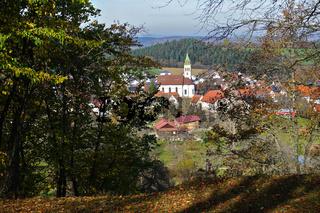 Erlaheim, Stadtteil der Stadt Geislingen, Zollernalbkreis, Baden Württemberg, Deutschland