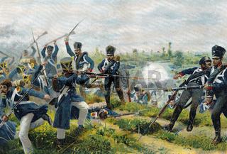 The Battle of Wartenburg, October 3, 1813, German Campaign