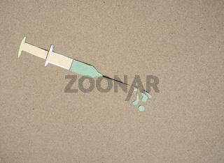 Spritze Impfung