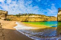 Magnificent bay of ocean