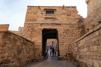 Gate at Jaisalmer Fort, India