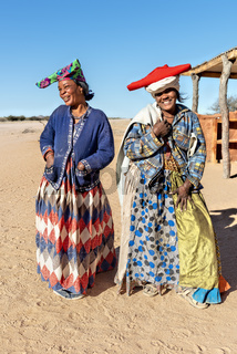 Namibia, Africa. Portraits of Herero women