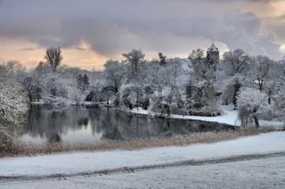 Spremberg Schloss Winter - Spremberg castle in winter 02