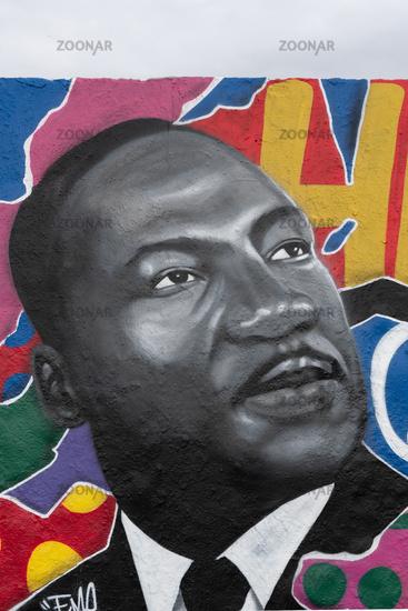 Martin Luther King Graffiti, Berlin