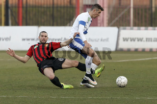 Honved vs. MTK OTP Bank League football match