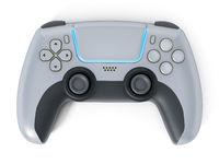 Generic video game controller. 3D illustration