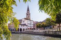 Cityscape, Portogruaro, Veneto, Italy