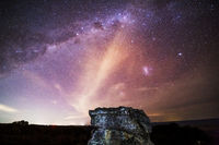 Star galaxies above the Blue Mountains escarpment