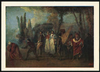 artist Antoine Watteau Satire on Physicians
