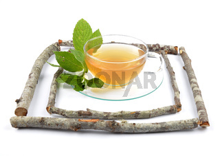 Melissentee - Lemon balm tea